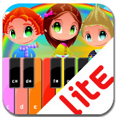 Kids Piano Lite App
